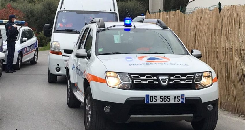 Crédit photo: Protection Civile des Alpes-Maritimes / @ADPC06