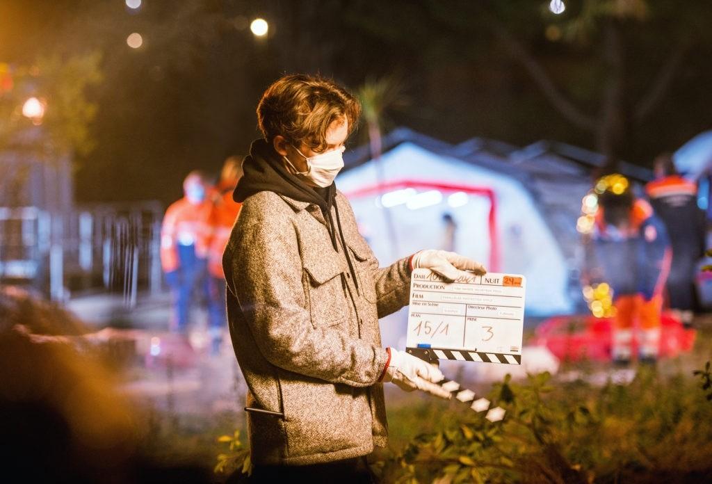 Les coulisses du tournage du prochain clip de la Protection Civile