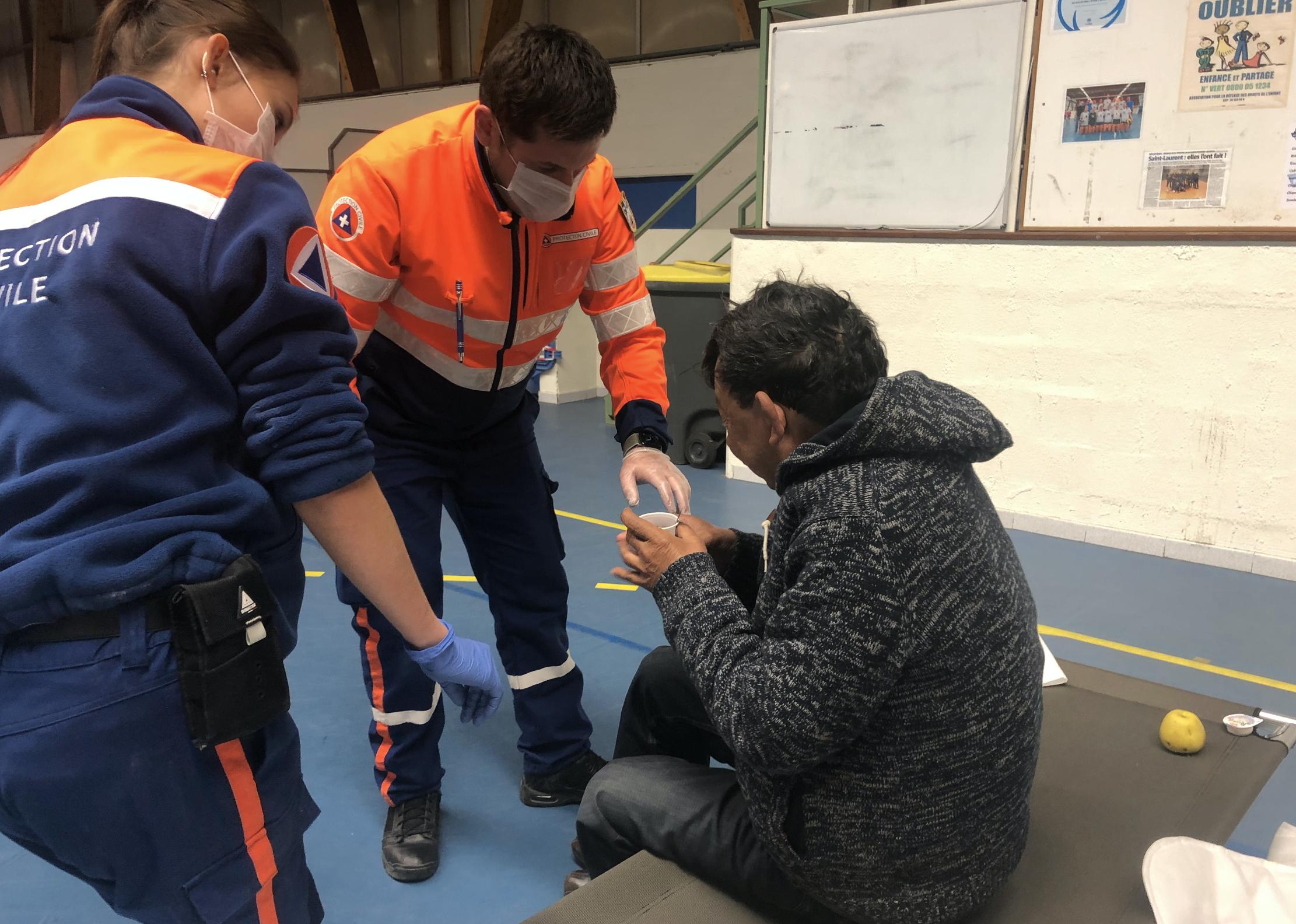 Crédit photo: Protection Civile des Alpes-Maritimes / @ADPC06