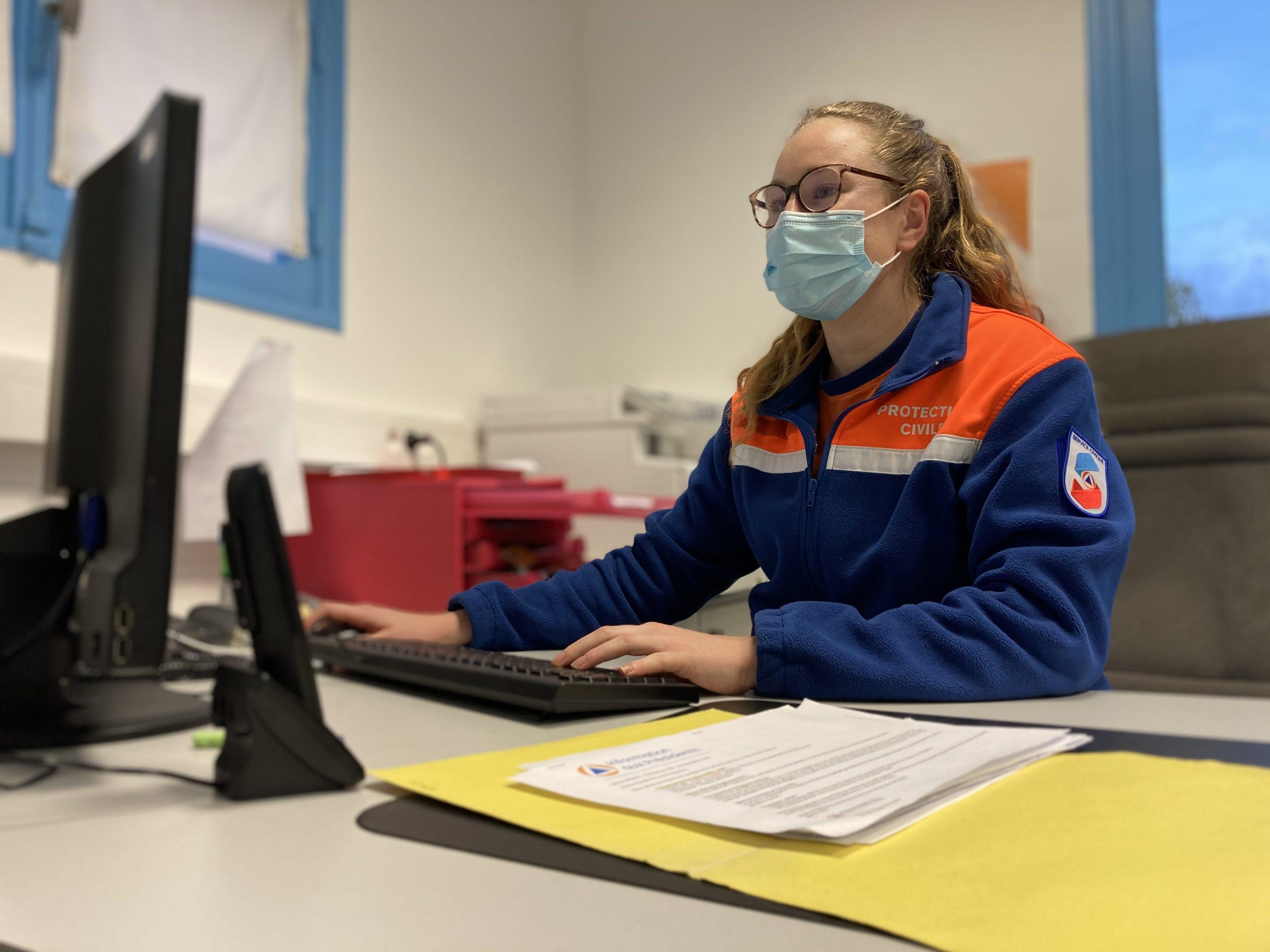 Volontaire en Service Civique à la Protection Civile